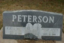 Philip Justin Peterson