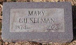 Mary <I>Bohlen</I> Gieselman