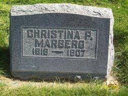Christina P <I>Persdotter; Peterson</I> Marberg