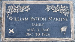 William Patton Martine