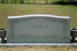 Fannie <I>Scruggs</I> Cauble