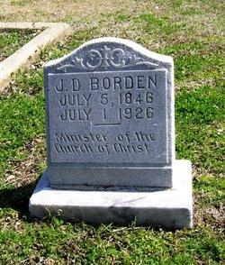"""John Davis """"J. D."""" Borden"""