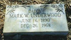 Mark W. Underwood, Sr