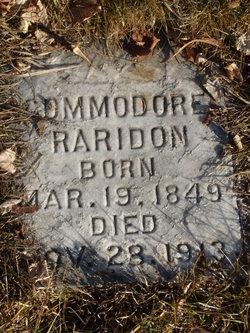 Commodore P Raridon