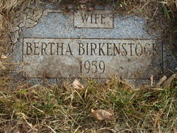 Bertha Agnes <I>Burno</I> Birkenstock