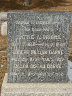 "Harriett A ""Hattie"" Briggs"