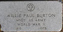Willie Paul Burton