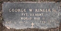George W. Rineer, Sr