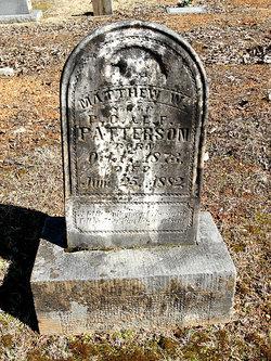 Matthew Wiley Patterson