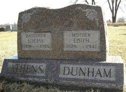 Louise <I>Dunham</I> Athens