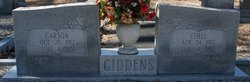 Ethel <I>Stephens</I> Giddens