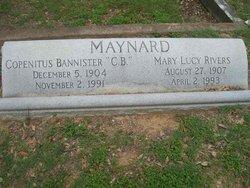 Mary Lucy <I>Rivers</I> Maynard