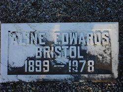 Aline <I>Edwards</I> Bristol