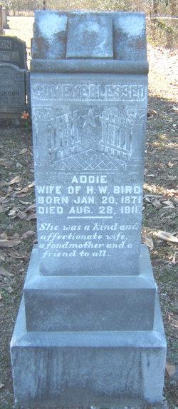 Addie <I>Jackson</I> Bird