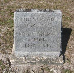 Aletha Catherine <I>White</I> Stoneman