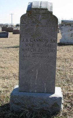 J. B. Cannon, Sr
