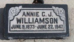 Annie Christina Maria <I>Jacobsen</I> Williamson