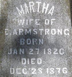 Martha W Armstrong