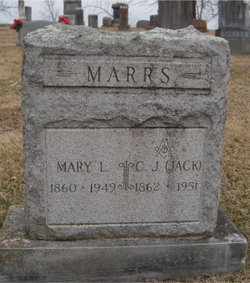 Mary Lavina <I>Casey</I> Marrs