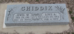 Loys A Chiddix