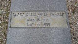 CLARA BELLE <I>OWEN</I> FARMER
