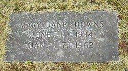 Mary Jane <I>Compton</I> Downs