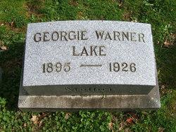 Georgie Evelyn <I>Warner</I> Lake