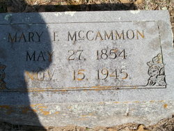 "Mary Frances ""Fanny"" <I>Bailey</I> McCammon"