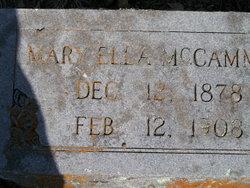 Mary Ella McCammon
