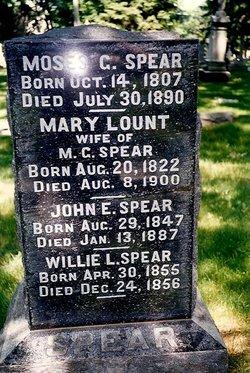 Mary <I>Lount</I> Spear