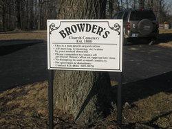 Browder's Church Cemetery