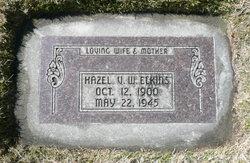 Hazel Venetta <I>Wallin</I> Elkins