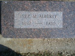 Inez Barnes <I>Matheson</I> Alberty