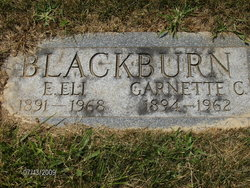 Garnette Clair <I>Barr</I> Blackburn
