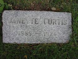 Janette <I>Ellis</I> Curtis