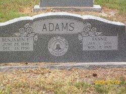 Benjamin F Adams