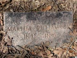 Martha Ann Elizabeth <I>Batts</I> Williamson