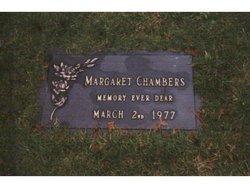 Margaret <I>Jackson</I> Chambers