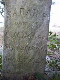 Sarah Frances <I>Brantley</I> Baker