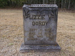 Lizzie Virginia <I>Ganus</I> Gordy