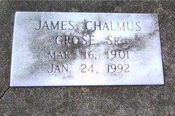 "Rev James Chalmus ""J.C."" Grose, Sr"