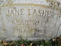 Martha Jane <I>Schott</I> Keaberley