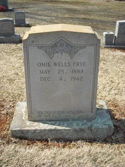 Omie <I>Wells</I> Frye