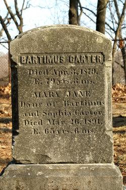 Bartimus Carter