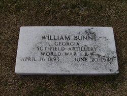 SGT William Bunn