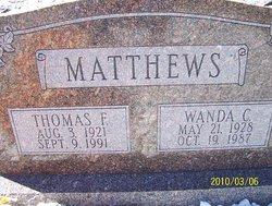 Wanda <I>Combee</I> Matthews