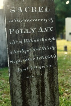 "Mary Ann ""Polly"" <I>Russell</I> Waugh"