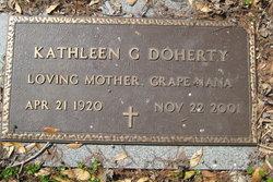 "Kathleen G ""Kay"" Doherty"
