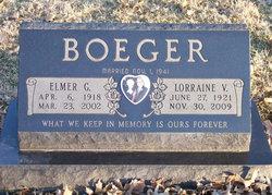 Lorraine V. <I>Guth</I> Boeger