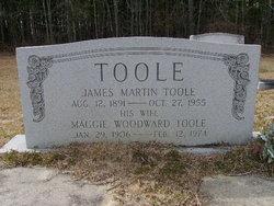 Maggie <I>Woodward</I> Toole